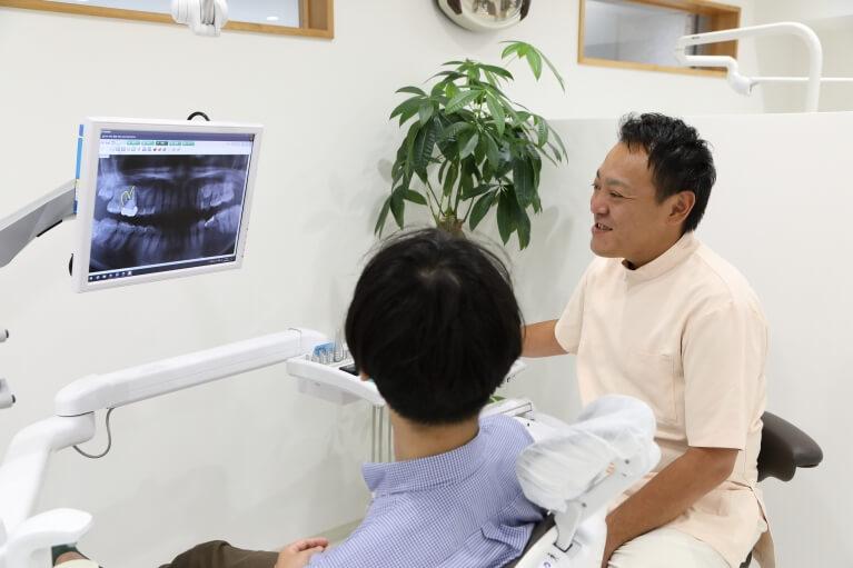 患者様のお口の現状をしっかりと分かりやすくご説明